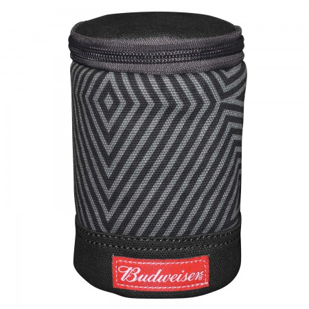Budweiser Can Cooler With Carabiner