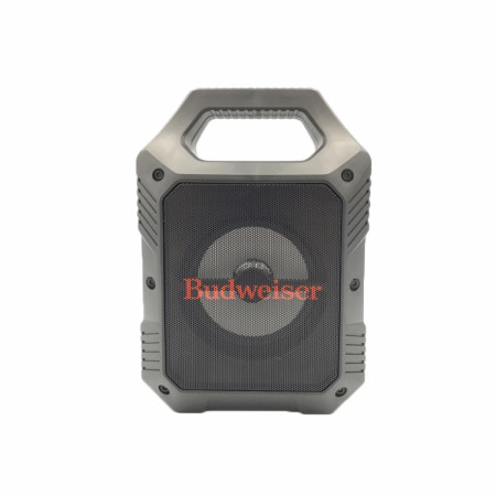 "Budweiser 9"" Rugged Tailgate LED Bluetooth Speaker"