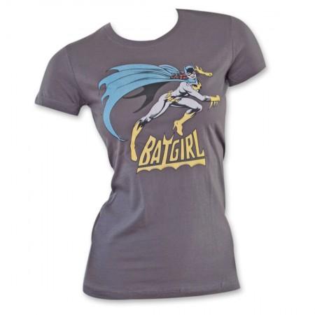 Batgirl Women's Tee - Grey