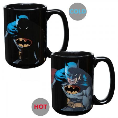 Batman Color Changing Ceramic Mug