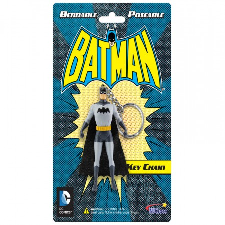 Batman 3-Inch Poseable Keychain Figurine