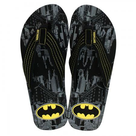 Batman Black Men's Sandals
