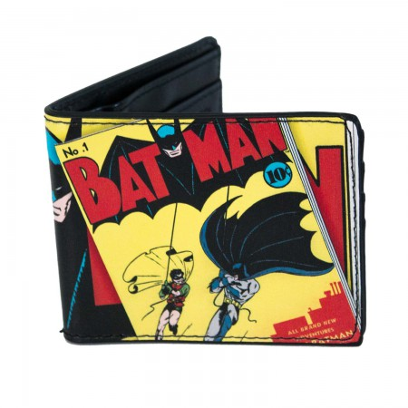 Batman Vintage Comic Book Wallet