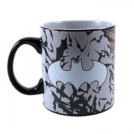 Batman Heat Reveal Coffee Mug