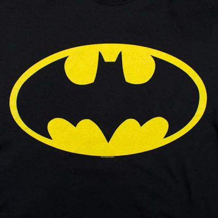 Batman Face Flip-Up Reversible Shirt - Black