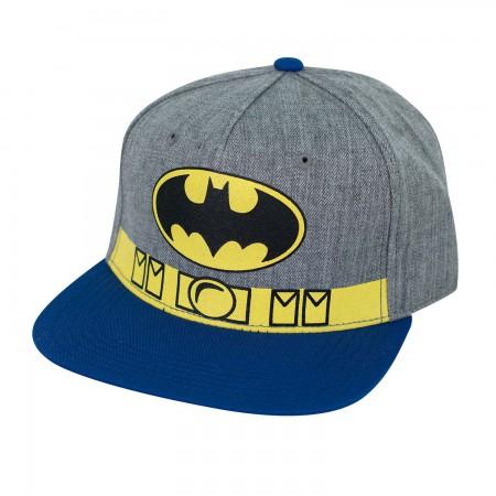 Batman Twill Utility Belt Snapback Hat