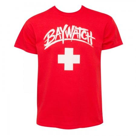 Baywatch Men's Classic Red T-Shirt
