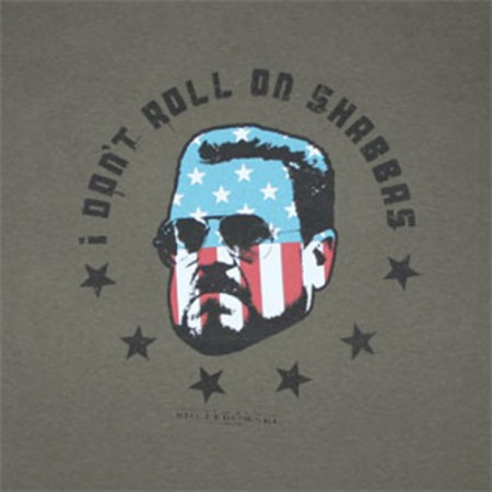 The Big Lebowski Sobchak Don't Roll On Shabbas Gray T-Shirt
