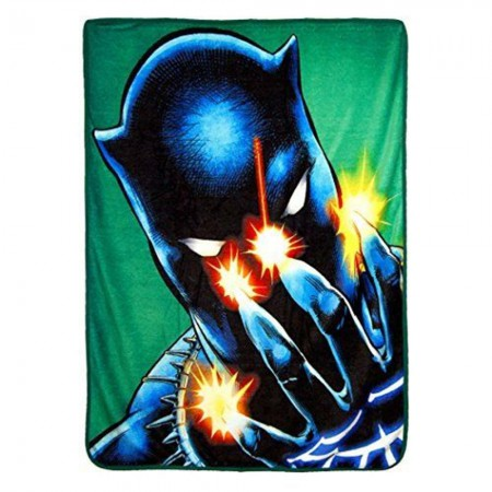 Marvel Black Panther Power Of Claws 40x60 Fleece Throw Blanket