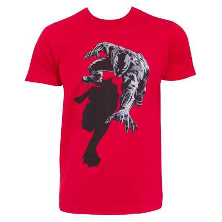 Black Panther Men's Red Shadow T-Shirt