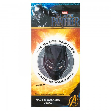 Black Panther Made In Wakanda Sticker