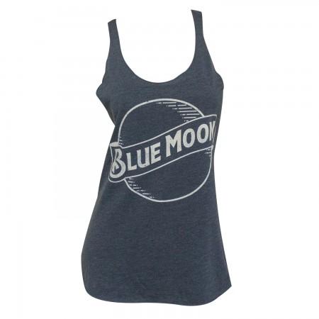 Blue Moon Logo Women's Racerback Tank Top
