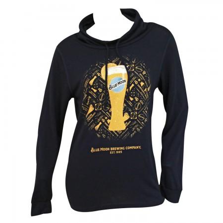 Blue Moon Glass Women's Blue Sweatshirt