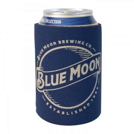 Blue Moon Foam Can Cooler
