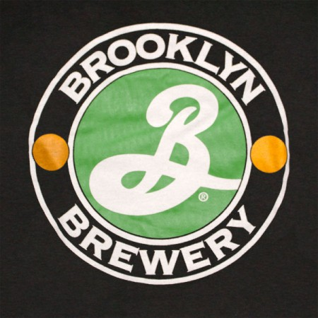 Brooklyn Brewery Beer Logo Men's Black T-Shirt