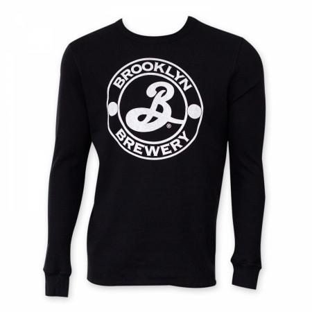 Brooklyn Brewery Black Long Sleeve Thermal