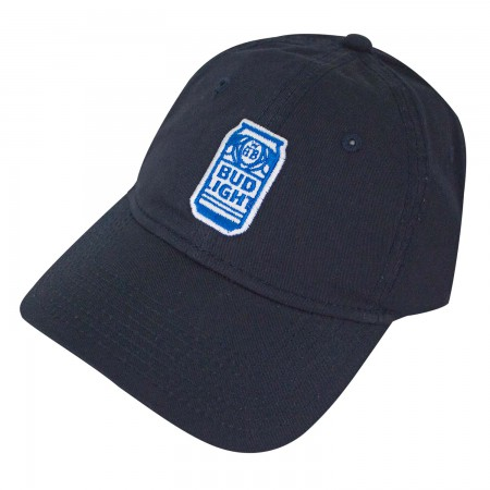 Bud Light Navy Blue Can Logo Dad Hat