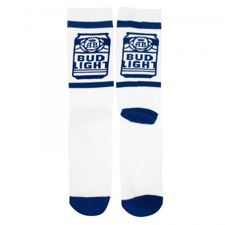 Bud Light Cans Crew Socks