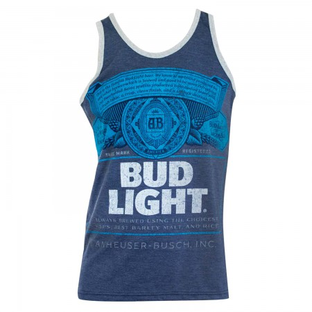 Bud Light Men's Blue Label Tank Top