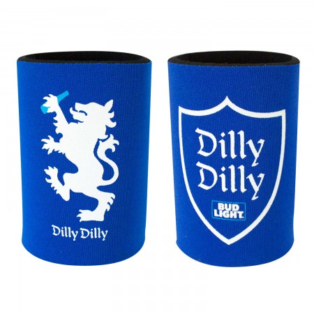 Bud Light Dilly Dilly Shield and Lion Can Cooler