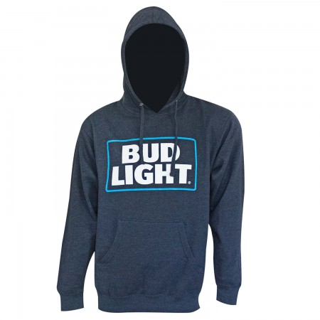 Bud Light Logo Navy Blue Hoodie