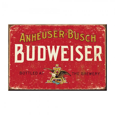 Budweiser Retro Anheuser Busch Magnet