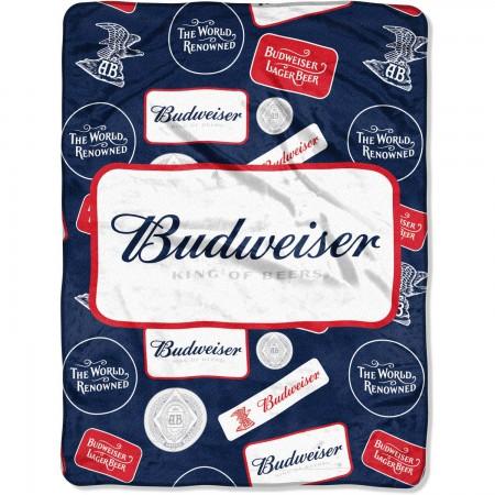 Budweiser Plush Blanket