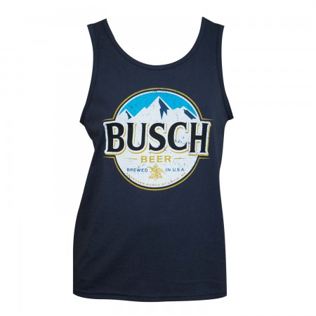 Busch Men's Navy Blue Tank Top