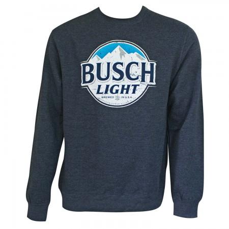 Busch Light Navy Crewneck Sweatshirt