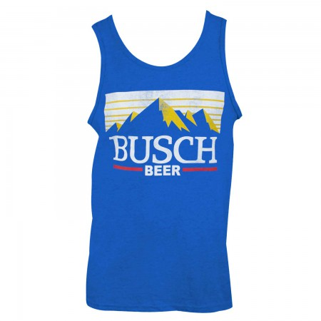 Busch Beer Men's Blue Tank Top