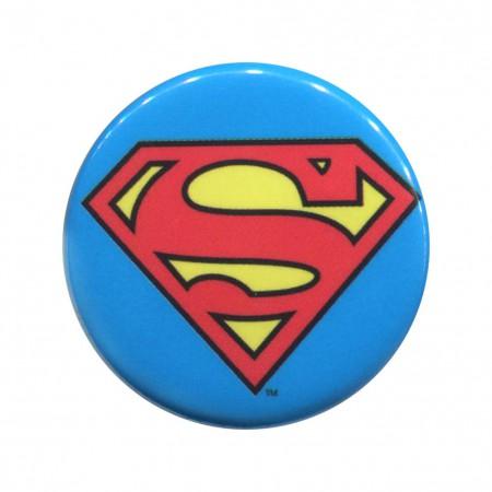 Superman Classic Logo Button