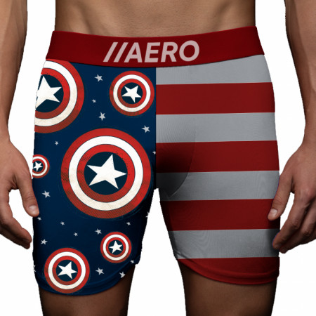 Captain America Americana Boxer Briefs