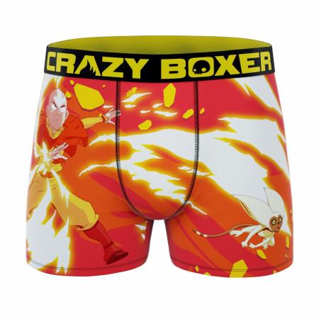 Crazy Boxers Avatar: The Last Airbender Men's Boxer Briefs