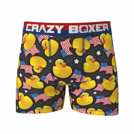 Rubber Duckies and American Flags Boxer Briefs
