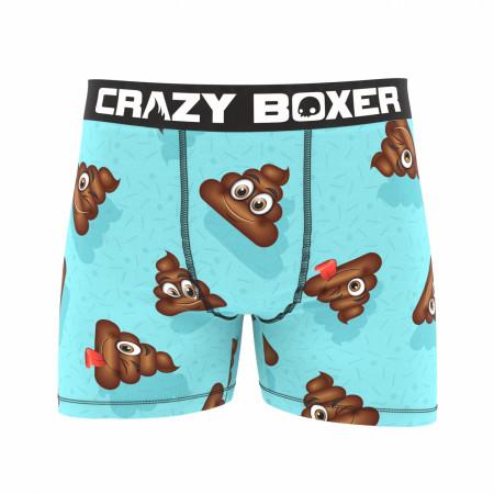Poop Emoji Boxer Briefs
