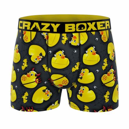 Crazy Boxer Rubber Duckies All Over Men's Boxer Briefs