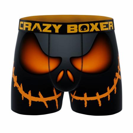 Crazy Boxer Halloween Smile Men's Boxer Briefs
