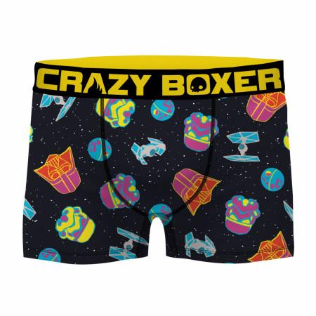 Star Wars Neon Empire Men's Boxer Briefs Shorts