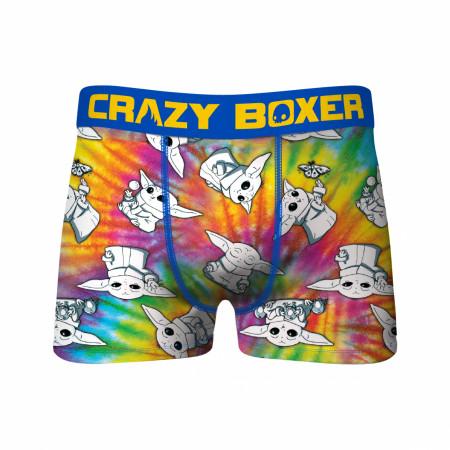 Crazy Boxers Star Wars The Child Tye Dye Boxer Briefs