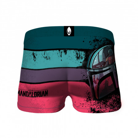 Star Wars The Mandalorian & The Child Pods All Over Print 2-Pack of Crazy Boxer Briefs