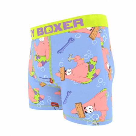 SpongeBob SquarePants Patrick Memes Boxer Briefs