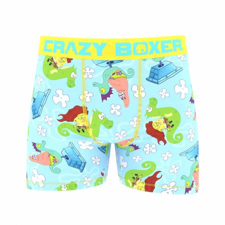 Spongebob Squarepants Seahorses Boxer Briefs