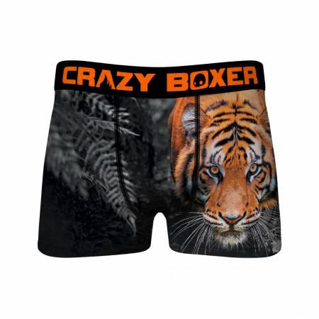 Tiger Prowl Men's Underwear Boxer Briefs
