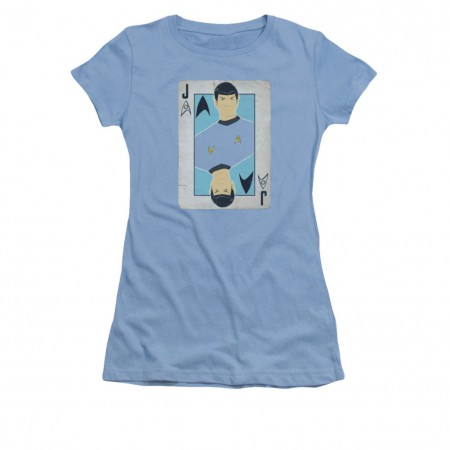 Property of Starfleet Academy Dept of XENOLINGUISTICS Juniors Cap Sleeve T-Shirt
