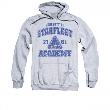 Star Trek Starfleet Academy Gray Pullover Hoodie