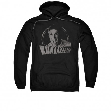 Star Trek Kirk Khan Yell Black Pullover Hoodie