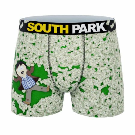 Crazy Boxer South Park Cash Everywhere Boxer Briefs
