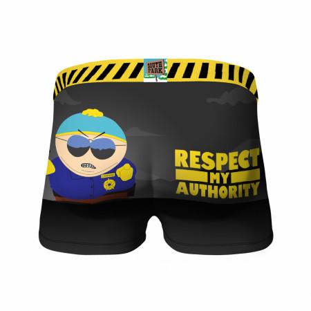Crazy Boxers South Park Respect My Authority Boxer Briefs