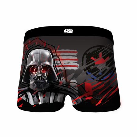 Star Wars Darth Vader Empire Symbol Men's Crazy Boxer Briefs