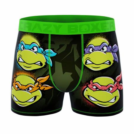 Crazy Boxers Teenage Mutant Nina Turtles Cowabunga Men's Boxer Briefs